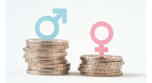 La brecha salarial entre hombres, mujeres lo los puestos que ocupan.