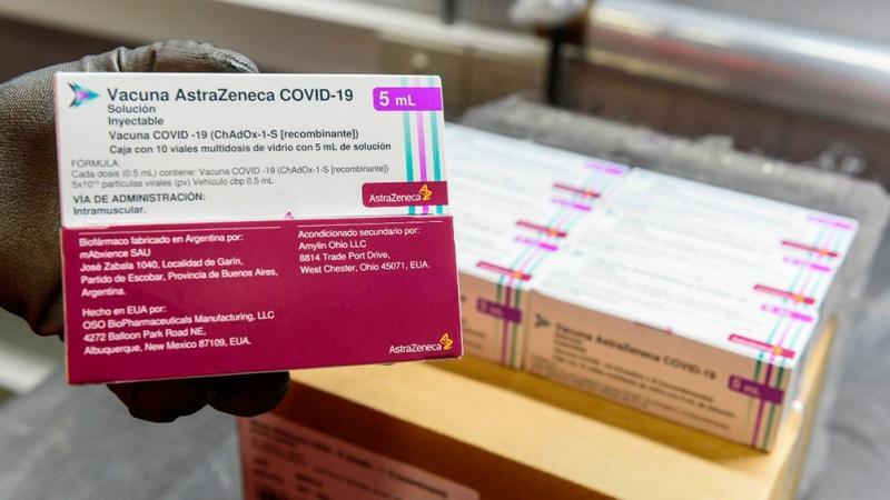Llegan a las provincias más de 900 mil dosis de AstraZeneca