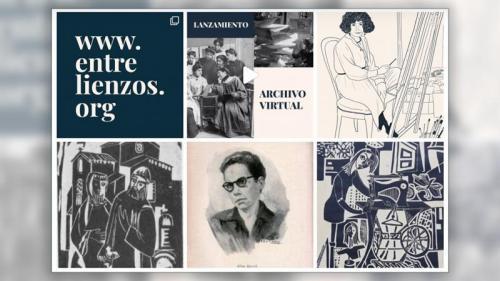 Crean una plataforma digital para difundir y preservar la obra de las artistas plásticas argentinas.